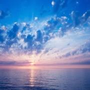 Clouds-Sun-Sky-Air-Shades-Sea-Calm-Evening-Horizon-1080x1920