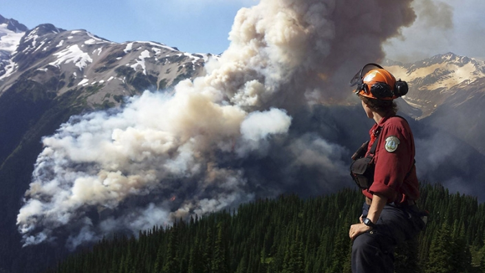 Forest Fires and Breathing